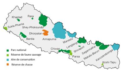 La faune sauvage Népalaise