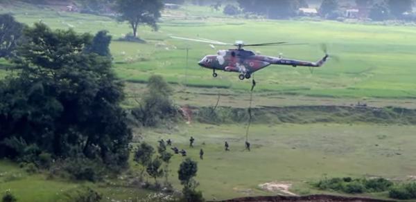 Les forces armées népalaises